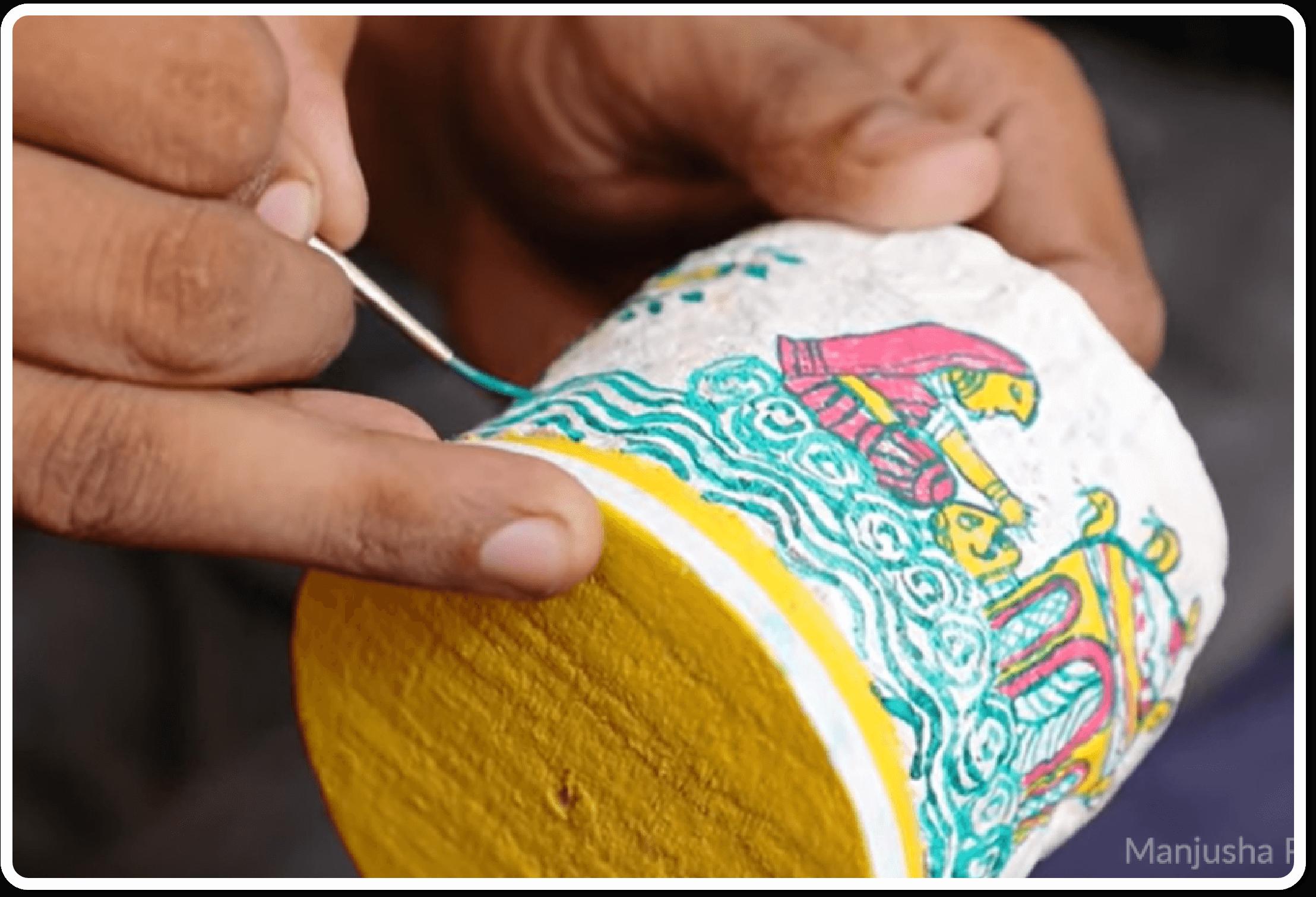 Manjusha Painting